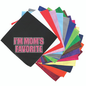 I'm Mom's Favorite (Pink) - Bandanna