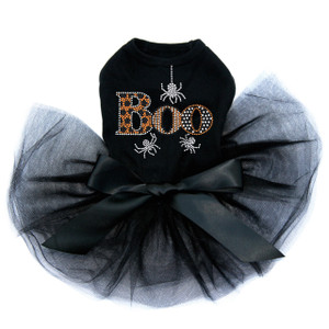 Boo with Silver Spiders - Tutu