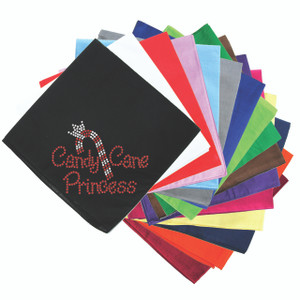 Candy Cane Princess - Bandanna