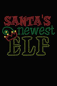 Santa's Newest Elf - Women's T-shirt
