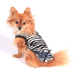 The Diamond Collection - Diva Zebra Dress
