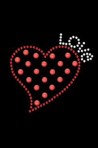 Small Love Polka Dot Heart - Women's T-shirt