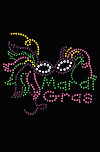 Mardi Gras Mask #5 - Women's T-shirt