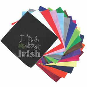 I'm a Wee Bit Irish - Bandanna