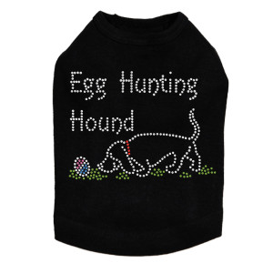 Egg Hunting Hound - Dog Tank