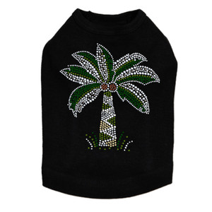 Coconut Tree dog tank for small and big dogs