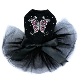 Pink & Purple Butterfly - Dog Tutu