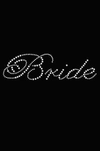 Bride (Script Letters)- Women's T-shirt