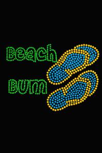 Beach Bum with Flip Flops - Women's T-shirt