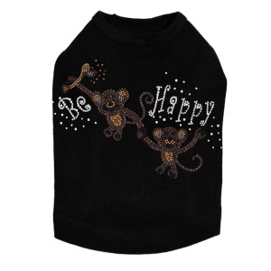 Monkeys - Be Happy - Dog Tank