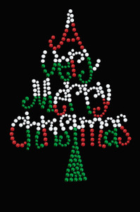 Have a Very Merry Christmas (Opaque Stud) Christmas Tree - Women's Tee
