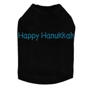 Happy Hanukkah - Dog Tank