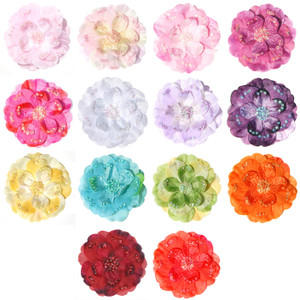 Additional Organza Flower Pins for Madeleine Dress