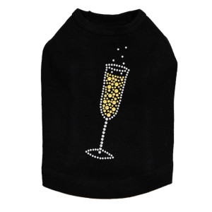 Champagne Flute - Dog Tank