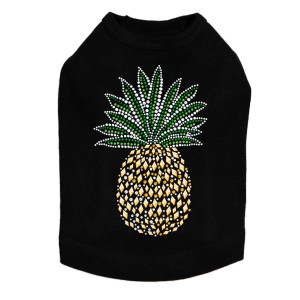 Pineapple dog tank for small and big dogs