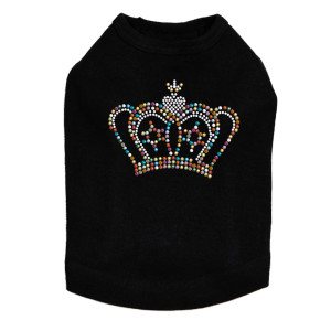 Crown #11 - Multicolor - Dog Tank