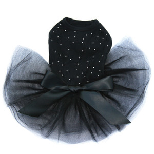 Scattered Stones - Clear Rhinestones Tutu for large and small dogs.