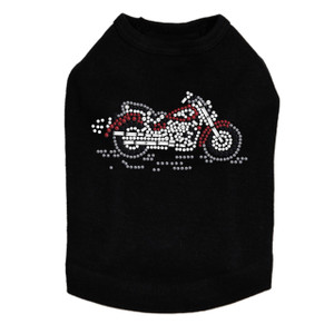 Motorcycle - Small Red & Black - Dog Tank