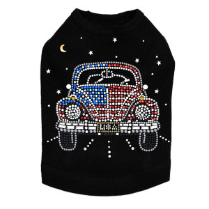 Volkswagon - Red, White, & Blue - Dog Tank