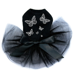 Rhinestone Butterflies Tutu