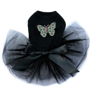 Green Nailhead Butterfly Tutu