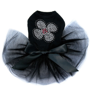 White Nailhead Flower dog tutu for large and small dogs.