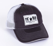 Po' Man Original Grey Mesh Back