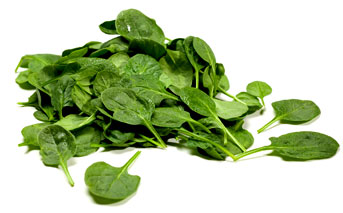 spinach in our greens drink