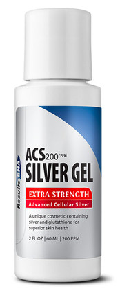 ACS Silver Gel with Glutathione and Aloe Vera