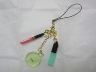 Perfume Lipgloss Charm / Phone Strap / Keychain