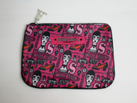 Dolly Girl Zipper Cosmetic Bag
