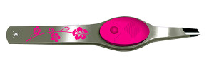 Pink Floral Lighted Tweezer