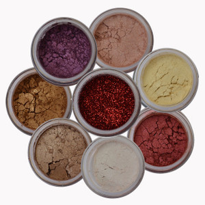 Terra Linda 8 stacks beautiful colors eye shadows. One color does it all!