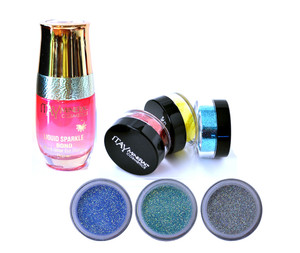 Shine   EyeShadows Glitter Kit - Crocus