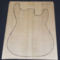 Guitar Maple, 5A Flame, Guitar, Drop Top DT709