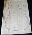 Guitar One Piece   Maple Culry  Droptop DT1P702