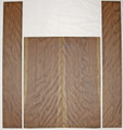 Guitar Tonewood, Acoustic, back and side Drednaught HONEY Roasted Figured Cherry ADCR116