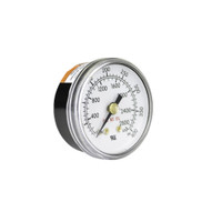 "Gauge 1 1/2"" CBM x 400 PSI for Victor EDGE Regulators"