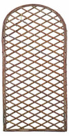 "Willow arched fence/trellis 24""x72""H  (6'H)"