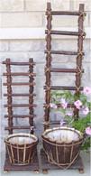 L: PL536LL   Large Barkwood & vine planters with trellis 9¶Ÿ?¶Dx36¶Ÿ?¶OH  (min 1)