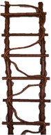 "Twig ladder with climbing vine 13""x6""H (min 1)"