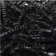 40 lb Spring Fill Crinkle Cut paper  - Black color