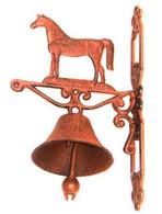 """Cast Iron Horse door bell 14""""x8""""x4.5""""(min.2)"""