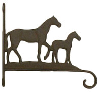 "Cast Iron Horse hook 13.5""x1.5""x12""H (min.2)"
