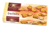 Forum puff pastry Twists 125 gr., 12/cs