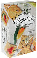 Partners Wisecrackers - Roasted Garlic 57 gr., 12/cs)