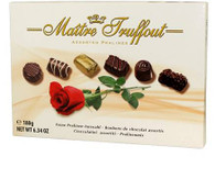 Maitre Truffout assorted rose pralines..180 gr., 8/cs