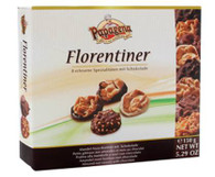Papagena Florentiner – almond nut sweets with chocolate 150 gr., 12/cs