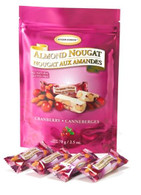 Golden Bonbon Cranberry almond nougat 70 gr., 24/cs