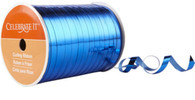 "Royal Blue metallic Curling Ribbon 3/16"" x300 FT (100 yd)"